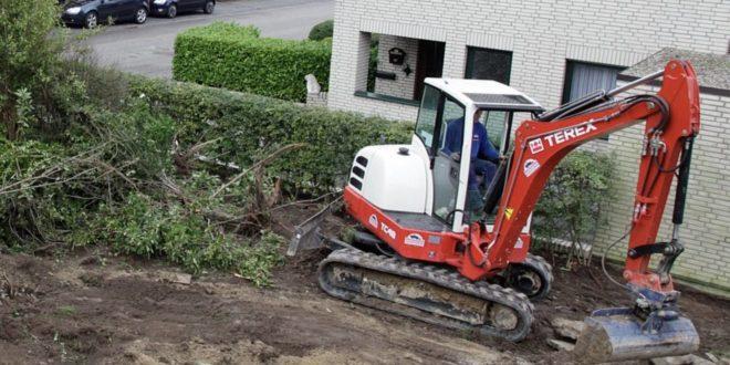 Minibagger - vielseitige Helfer für den Hausbau